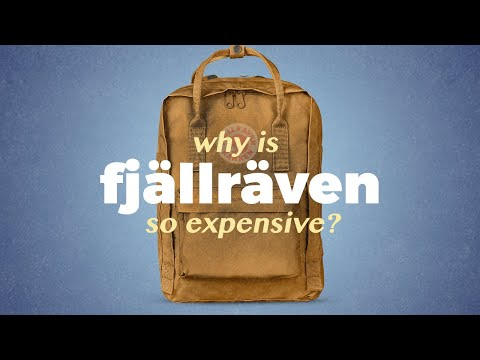 Why is Fjällräven so expensive?