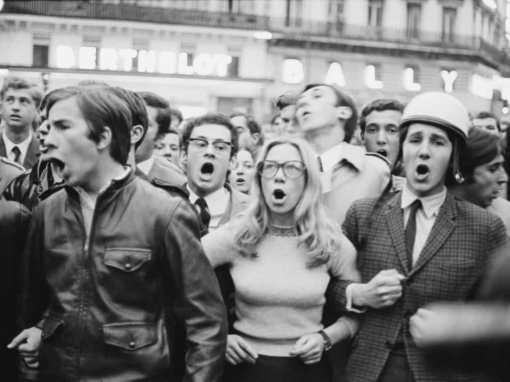 הפגנות מאי 1968 בפריז
